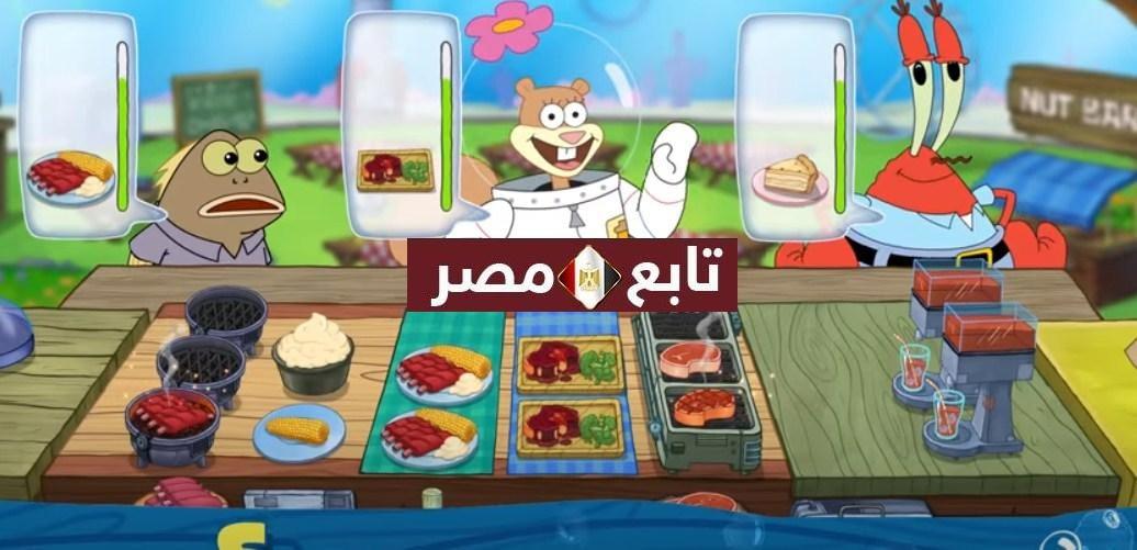 العاب طبخ سبونج بوب Spongebob أحدث تطبيقات بلاي للاندرويد