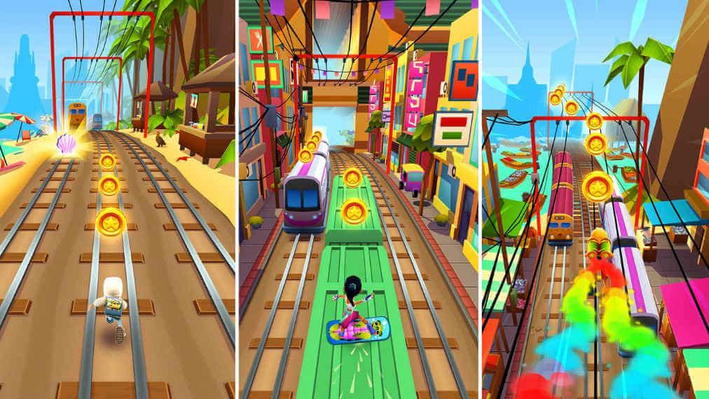 شرح تحميل لعبة صب واي والذهب 2021 آخر تحديث Subway Surfers