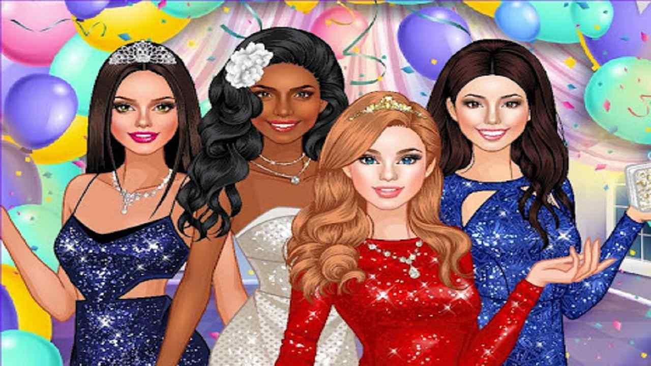العاب تلبيس بنات 2022 تلبيس الأميرة لحفلة الرقص
