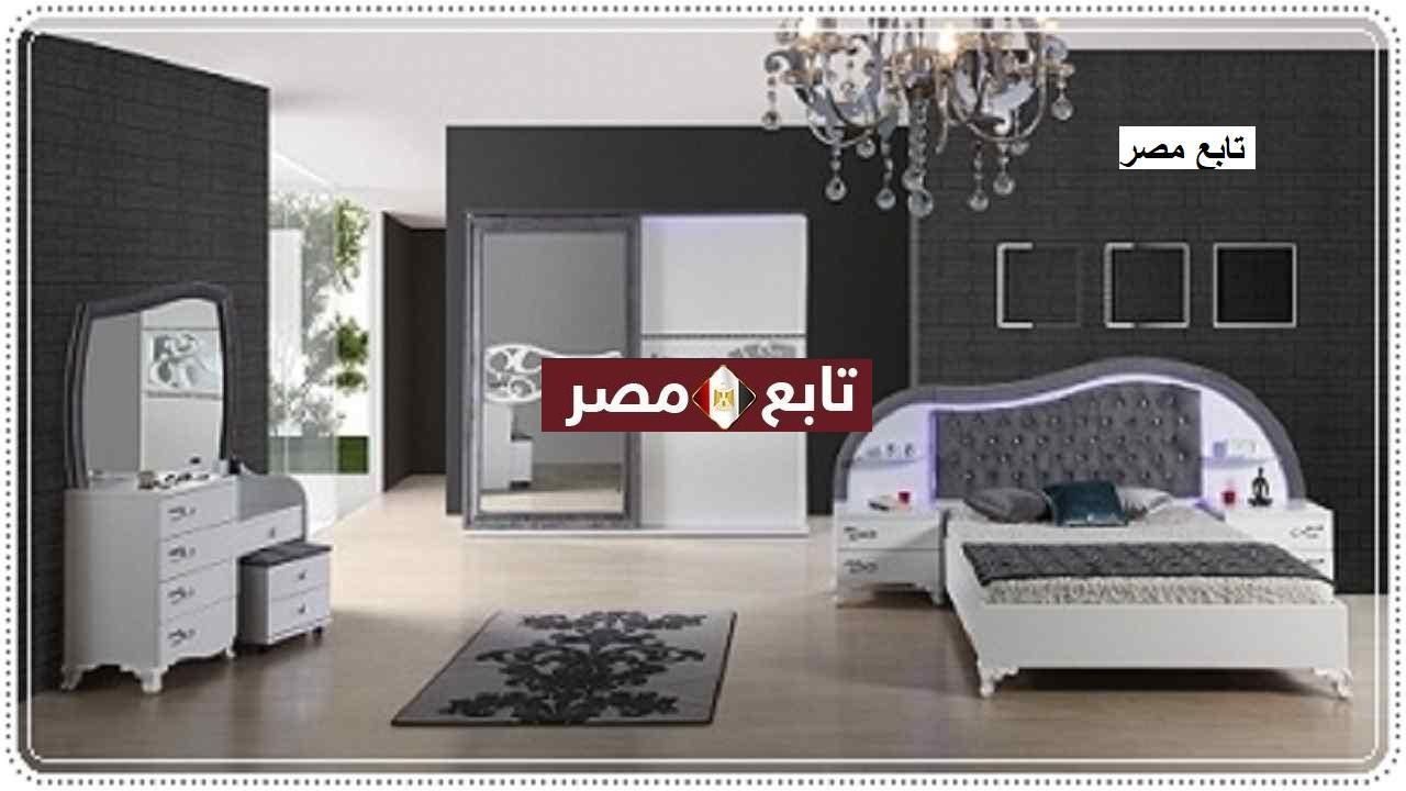 غرف نوم مودرن كاملة بالدولاب والتسريحه 2021 حديثة