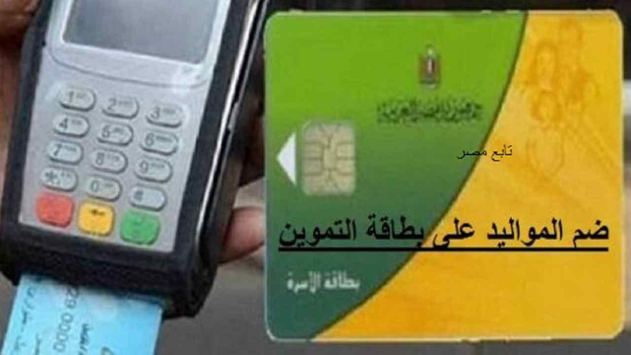 موقع تسجيل المواليد في بطاقة التموين عن طريق النت
