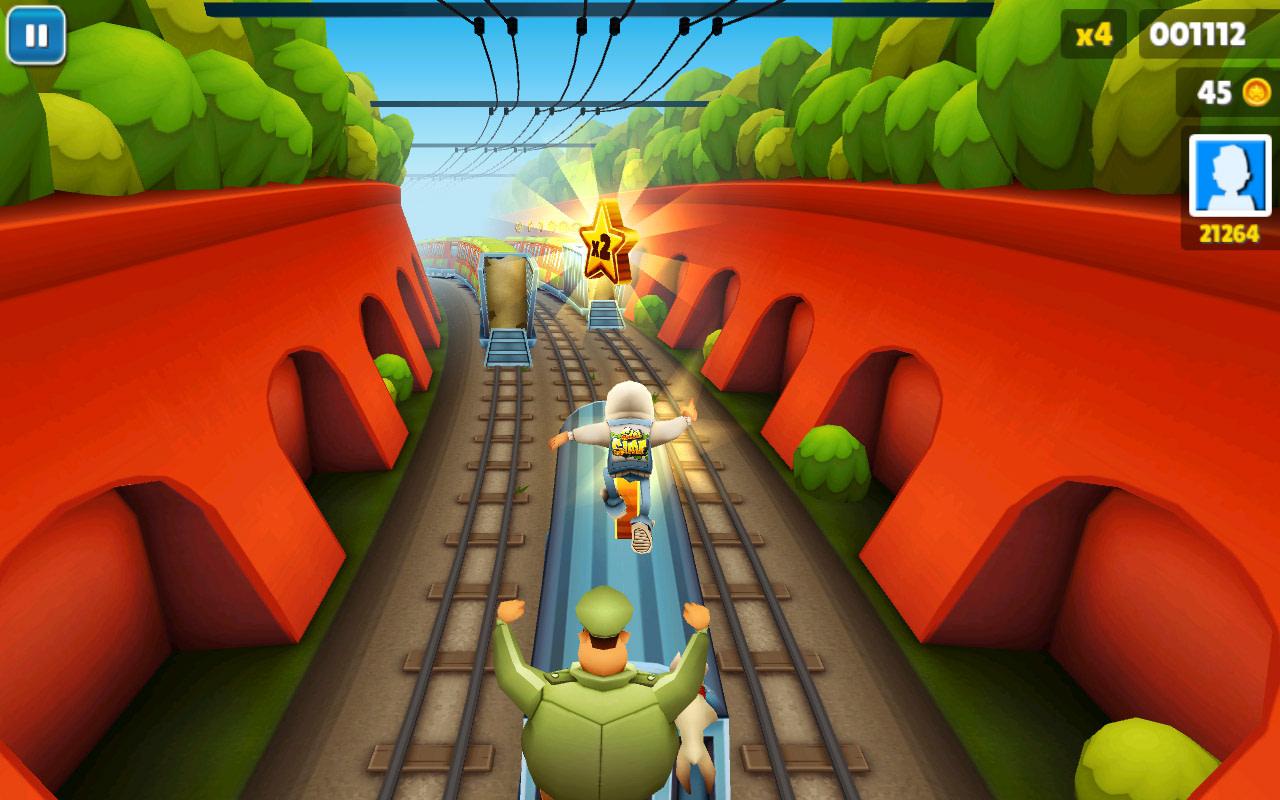 أحدث إصدار Subway Surfers لعبة صب واي للكمبيوتر 2021